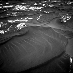 Nasa's Mars rover Curiosity acquired this image using its Left Navigation Camera on Sol 1789, at drive 1048, site number 65