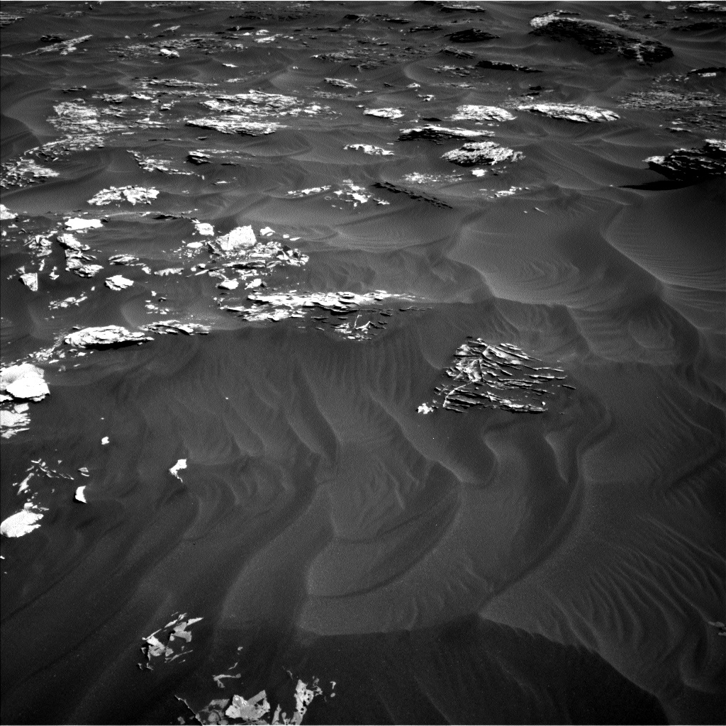 Nasa's Mars rover Curiosity acquired this image using its Left Navigation Camera on Sol 1789, at drive 1174, site number 65