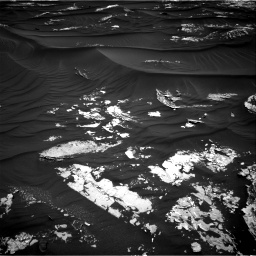 Nasa's Mars rover Curiosity acquired this image using its Right Navigation Camera on Sol 1789, at drive 1000, site number 65