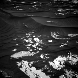 Nasa's Mars rover Curiosity acquired this image using its Right Navigation Camera on Sol 1789, at drive 1006, site number 65