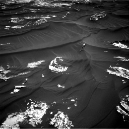Nasa's Mars rover Curiosity acquired this image using its Right Navigation Camera on Sol 1789, at drive 1030, site number 65