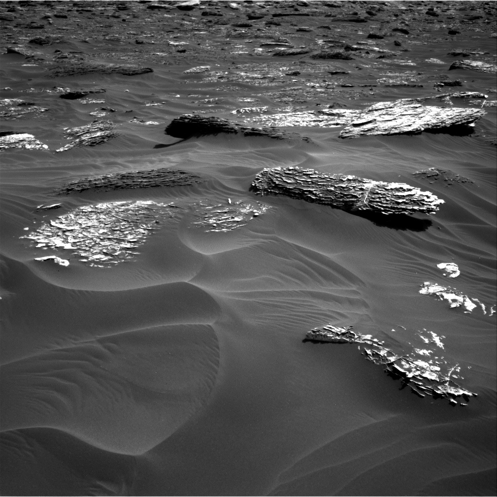 Nasa's Mars rover Curiosity acquired this image using its Right Navigation Camera on Sol 1789, at drive 1174, site number 65