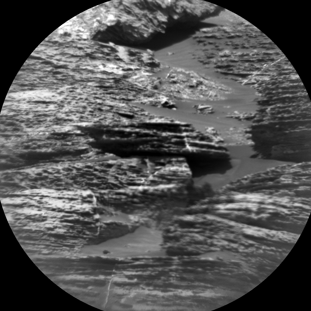 Nasa's Mars rover Curiosity acquired this image using its Chemistry & Camera (ChemCam) on Sol 1790, at drive 1174, site number 65