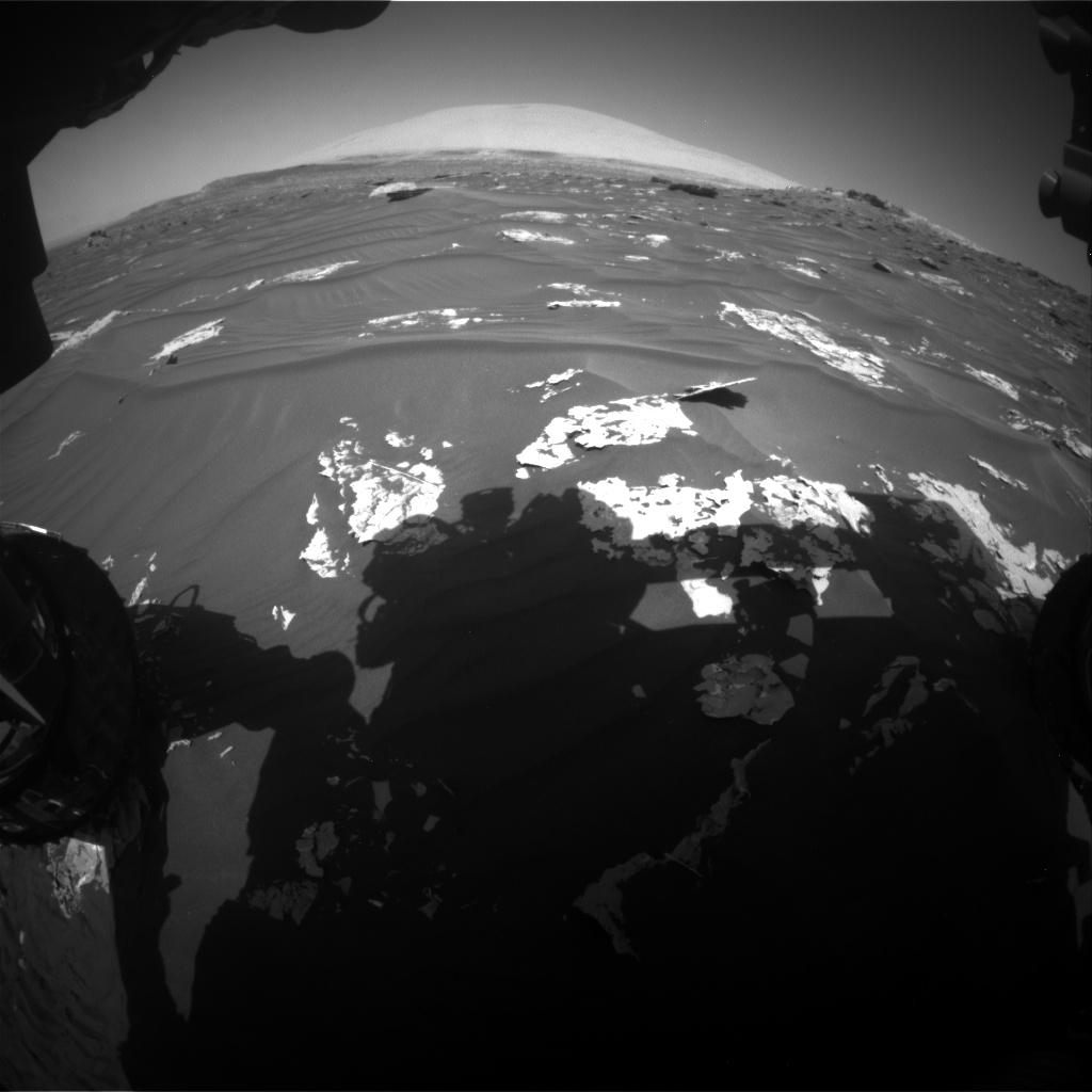 Nasa's Mars rover Curiosity acquired this image using its Front Hazard Avoidance Camera (Front Hazcam) on Sol 1793, at drive 1438, site number 65
