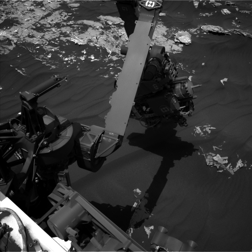 Nasa's Mars rover Curiosity acquired this image using its Left Navigation Camera on Sol 1793, at drive 1174, site number 65