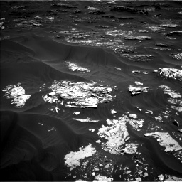 Nasa's Mars rover Curiosity acquired this image using its Left Navigation Camera on Sol 1793, at drive 1264, site number 65