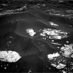 Nasa's Mars rover Curiosity acquired this image using its Left Navigation Camera on Sol 1793, at drive 1270, site number 65