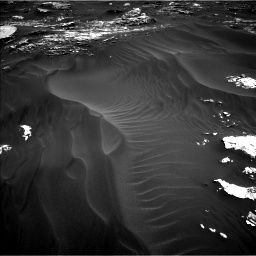 Nasa's Mars rover Curiosity acquired this image using its Left Navigation Camera on Sol 1793, at drive 1306, site number 65