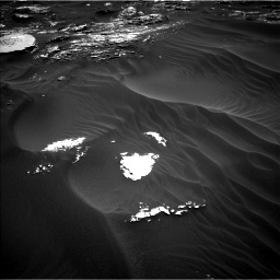 Nasa's Mars rover Curiosity acquired this image using its Left Navigation Camera on Sol 1793, at drive 1330, site number 65