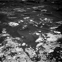 Nasa's Mars rover Curiosity acquired this image using its Right Navigation Camera on Sol 1793, at drive 1234, site number 65