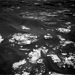 Nasa's Mars rover Curiosity acquired this image using its Right Navigation Camera on Sol 1793, at drive 1264, site number 65