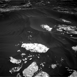 Nasa's Mars rover Curiosity acquired this image using its Right Navigation Camera on Sol 1793, at drive 1288, site number 65