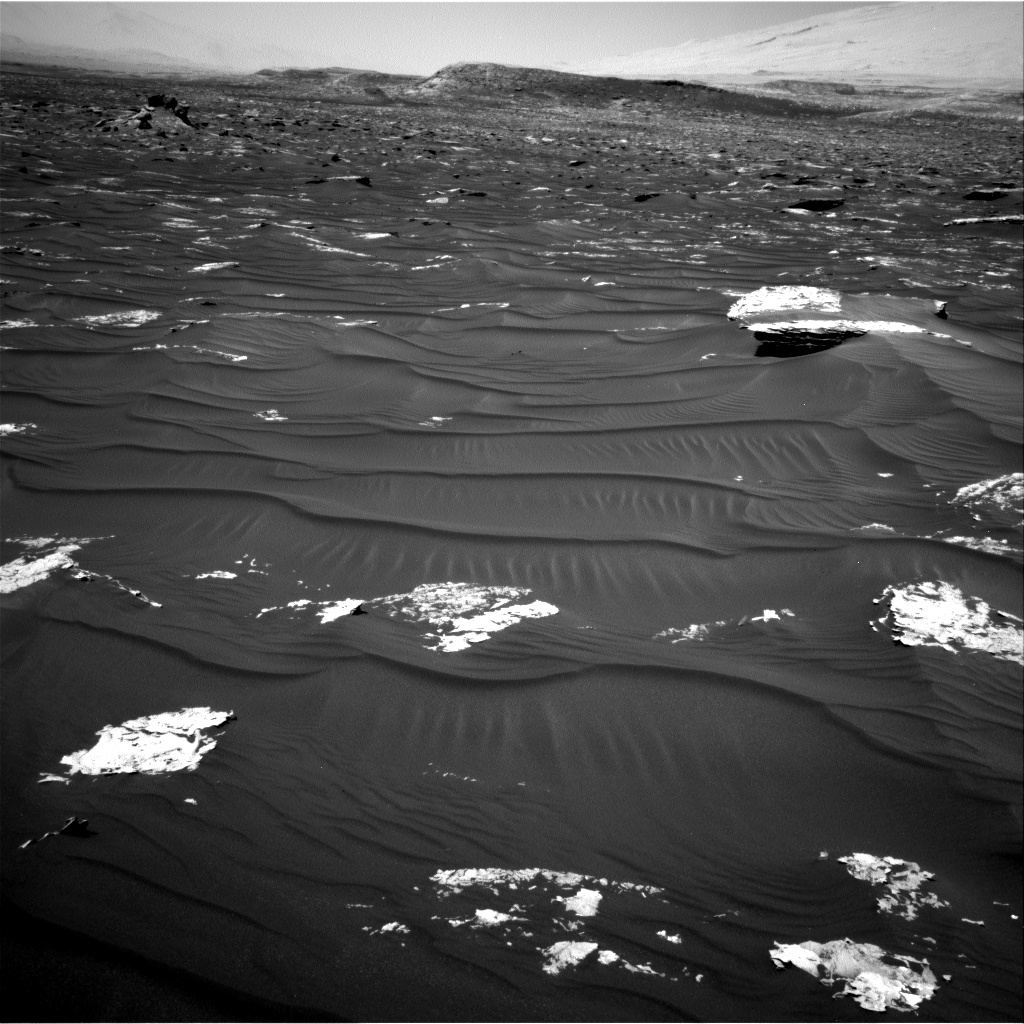 Nasa's Mars rover Curiosity acquired this image using its Right Navigation Camera on Sol 1793, at drive 1438, site number 65