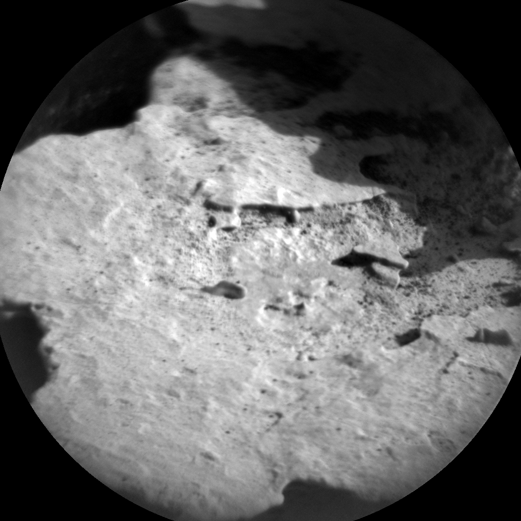 Nasa's Mars rover Curiosity acquired this image using its Chemistry & Camera (ChemCam) on Sol 1793, at drive 1438, site number 65