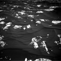 Nasa's Mars rover Curiosity acquired this image using its Right Navigation Camera on Sol 1794, at drive 1588, site number 65