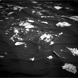 Nasa's Mars rover Curiosity acquired this image using its Right Navigation Camera on Sol 1794, at drive 1612, site number 65