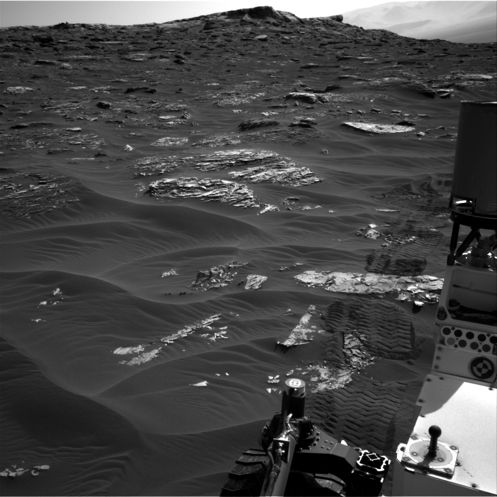 Nasa's Mars rover Curiosity acquired this image using its Right Navigation Camera on Sol 1794, at drive 1642, site number 65
