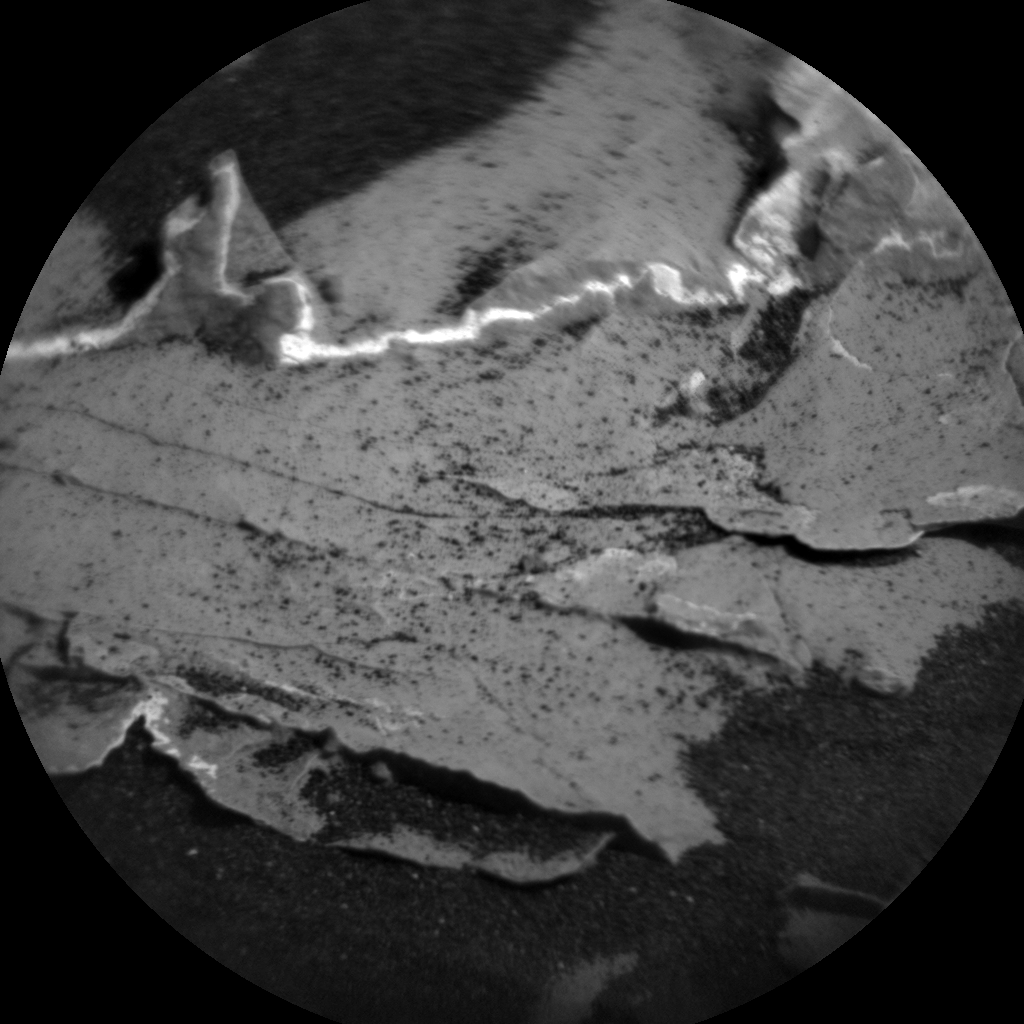 Nasa's Mars rover Curiosity acquired this image using its Chemistry & Camera (ChemCam) on Sol 1794, at drive 1642, site number 65