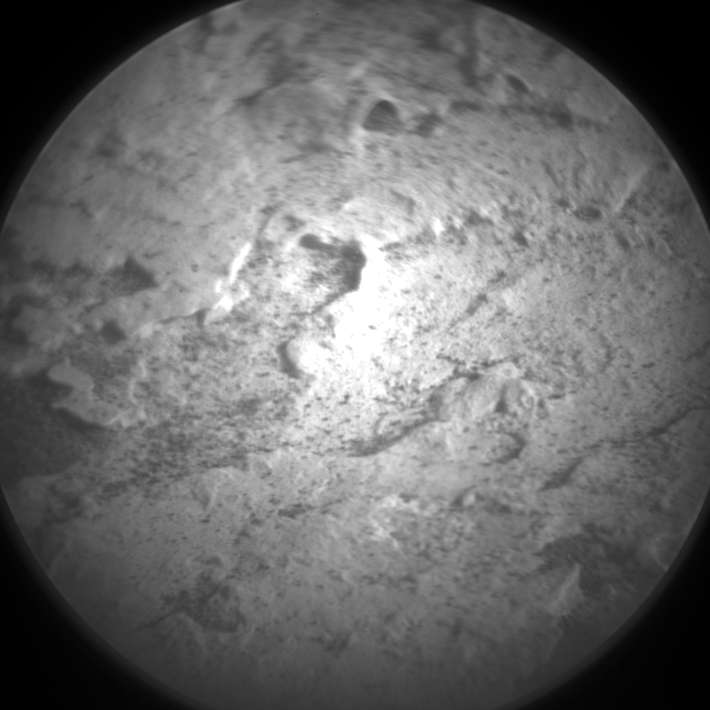 Nasa's Mars rover Curiosity acquired this image using its Chemistry & Camera (ChemCam) on Sol 1795, at drive 1934, site number 65