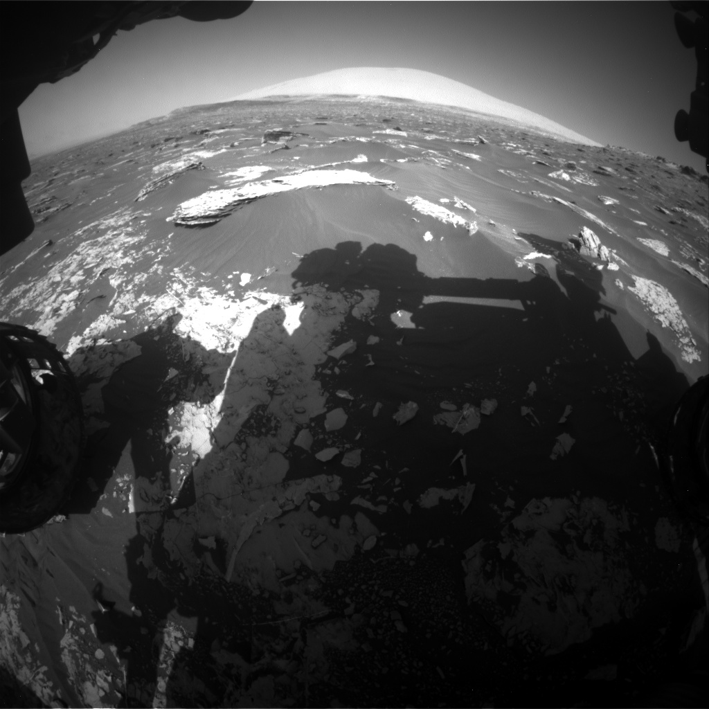 Nasa's Mars rover Curiosity acquired this image using its Front Hazard Avoidance Camera (Front Hazcam) on Sol 1795, at drive 1934, site number 65
