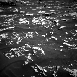 Nasa's Mars rover Curiosity acquired this image using its Left Navigation Camera on Sol 1795, at drive 1780, site number 65