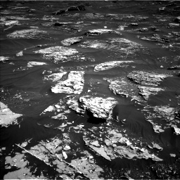 Nasa's Mars rover Curiosity acquired this image using its Left Navigation Camera on Sol 1795, at drive 1828, site number 65