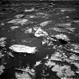 Nasa's Mars rover Curiosity acquired this image using its Left Navigation Camera on Sol 1795, at drive 1846, site number 65