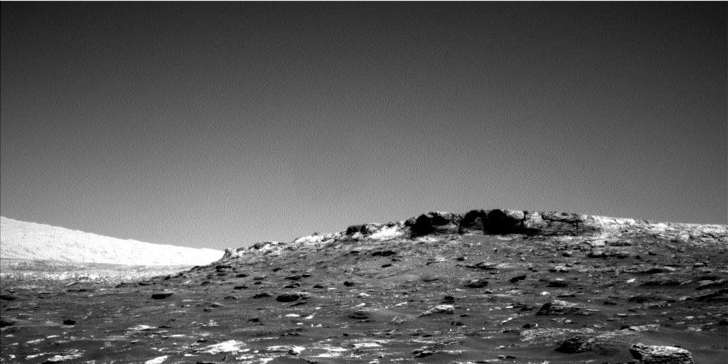 Nasa's Mars rover Curiosity acquired this image using its Left Navigation Camera on Sol 1795, at drive 1934, site number 65
