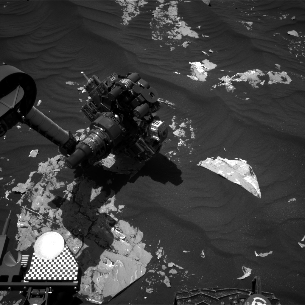 Nasa's Mars rover Curiosity acquired this image using its Right Navigation Camera on Sol 1795, at drive 1642, site number 65