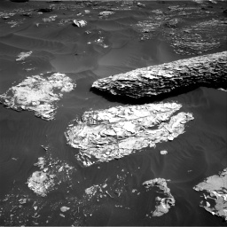 Nasa's Mars rover Curiosity acquired this image using its Right Navigation Camera on Sol 1795, at drive 1660, site number 65