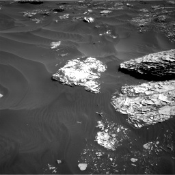 Nasa's Mars rover Curiosity acquired this image using its Right Navigation Camera on Sol 1795, at drive 1666, site number 65