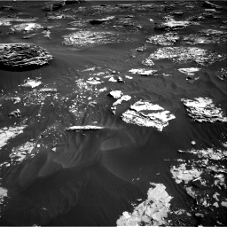 Nasa's Mars rover Curiosity acquired this image using its Right Navigation Camera on Sol 1795, at drive 1870, site number 65
