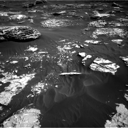 Nasa's Mars rover Curiosity acquired this image using its Right Navigation Camera on Sol 1795, at drive 1876, site number 65