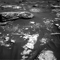 Nasa's Mars rover Curiosity acquired this image using its Right Navigation Camera on Sol 1795, at drive 1888, site number 65