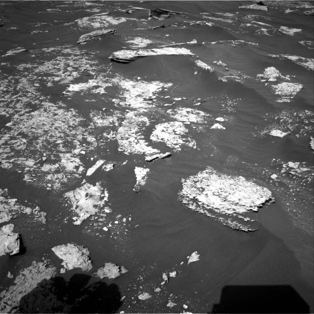 Nasa's Mars rover Curiosity acquired this image using its Right Navigation Camera on Sol 1795, at drive 1894, site number 65