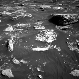 Nasa's Mars rover Curiosity acquired this image using its Right Navigation Camera on Sol 1795, at drive 1912, site number 65