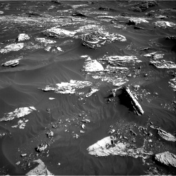 Nasa's Mars rover Curiosity acquired this image using its Right Navigation Camera on Sol 1795, at drive 1924, site number 65