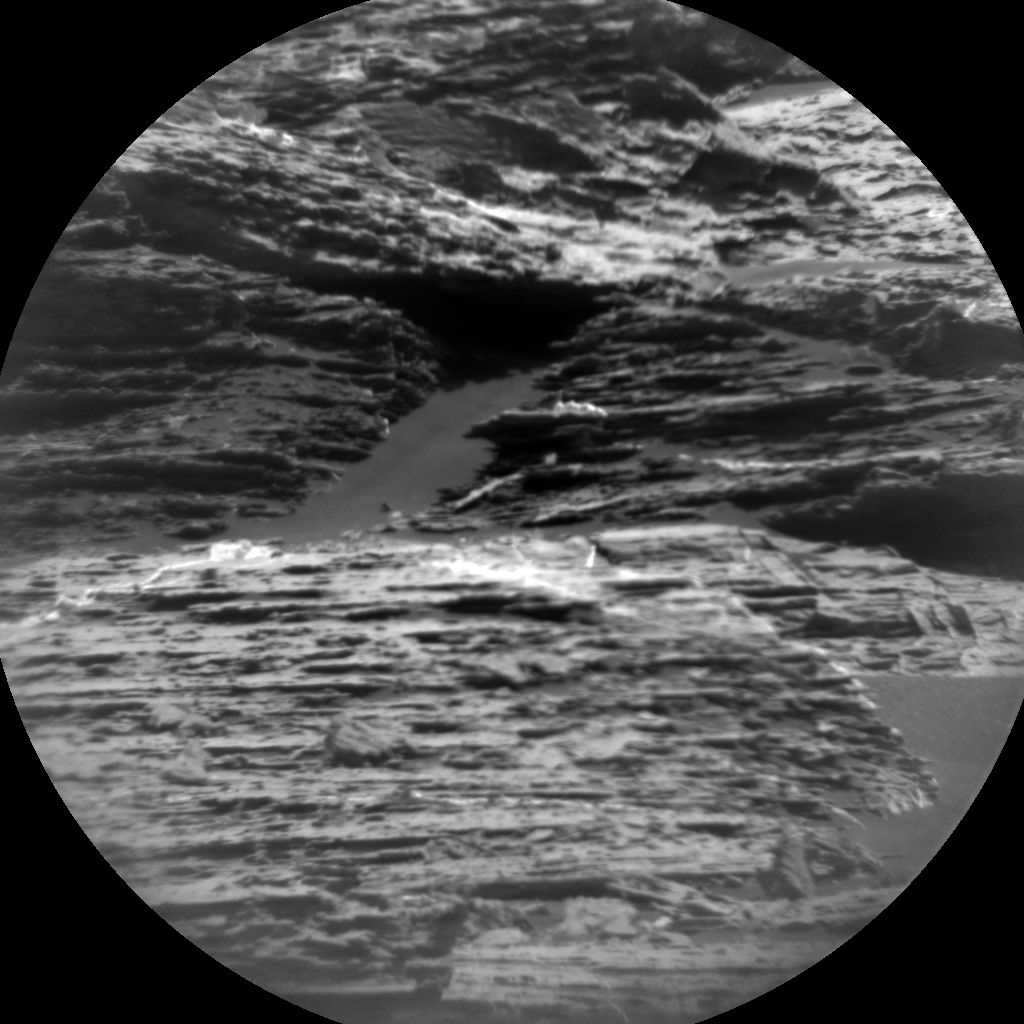 Nasa's Mars rover Curiosity acquired this image using its Chemistry & Camera (ChemCam) on Sol 1795, at drive 1642, site number 65