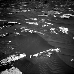 Nasa's Mars rover Curiosity acquired this image using its Left Navigation Camera on Sol 1796, at drive 1946, site number 65