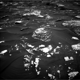 Nasa's Mars rover Curiosity acquired this image using its Left Navigation Camera on Sol 1796, at drive 1988, site number 65