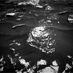 Nasa's Mars rover Curiosity acquired this image using its Left Navigation Camera on Sol 1796, at drive 2000, site number 65