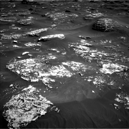 Nasa's Mars rover Curiosity acquired this image using its Left Navigation Camera on Sol 1796, at drive 2150, site number 65