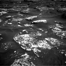 Nasa's Mars rover Curiosity acquired this image using its Left Navigation Camera on Sol 1796, at drive 2168, site number 65