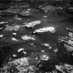 Nasa's Mars rover Curiosity acquired this image using its Left Navigation Camera on Sol 1796, at drive 2180, site number 65