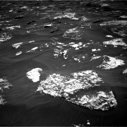 Nasa's Mars rover Curiosity acquired this image using its Right Navigation Camera on Sol 1796, at drive 1964, site number 65
