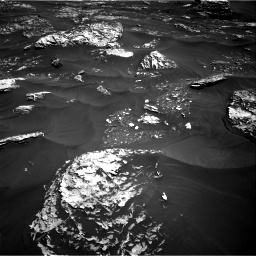 Nasa's Mars rover Curiosity acquired this image using its Right Navigation Camera on Sol 1796, at drive 2006, site number 65