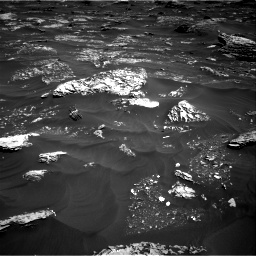 Nasa's Mars rover Curiosity acquired this image using its Right Navigation Camera on Sol 1796, at drive 2012, site number 65