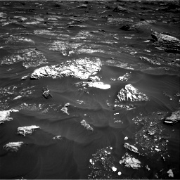 Nasa's Mars rover Curiosity acquired this image using its Right Navigation Camera on Sol 1796, at drive 2024, site number 65