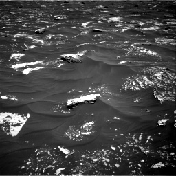 Nasa's Mars rover Curiosity acquired this image using its Right Navigation Camera on Sol 1796, at drive 2048, site number 65