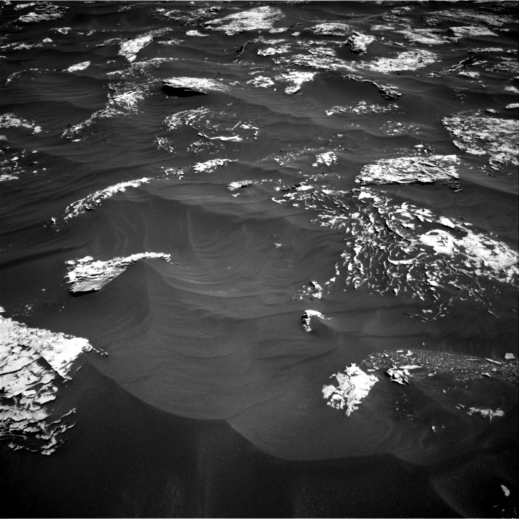 Nasa's Mars rover Curiosity acquired this image using its Right Navigation Camera on Sol 1796, at drive 2096, site number 65